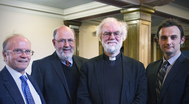 Eric Priest, Tom Wright, Rowan Williams, Andrew Torrance
